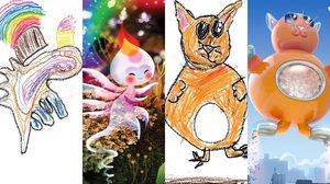 The Monster Project โปรเจคเจ๋งเอางานวาดรูปเด็กๆ มาแปลงเป็นศิลปะ