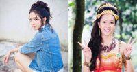 สาวหน้าหวาน ชิงชิง คริษฐา หรือ ดารณีนุชบา ละครสี่ยอดกุมาร
