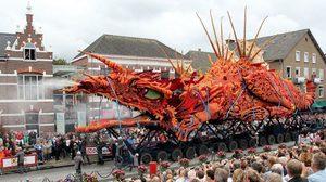 สวยเว่อร์วัง! Corso Zundert เทศกาลแห่ดอกไม้ ในประเทศเนเธอร์แลนด์