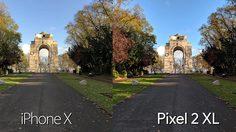วัดพลังกล้อง iPhone X กับ Pixel 2 XL ทั้งกล้องหน้า-หลัง วัดกันช็อตต่อช็อต