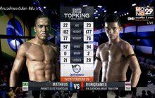 คู่ที่ 4 Superfight รุ่งราวี พี.เค.แสนชัยมวยไทยยิม VS มาธิอุส ภูเก็ต อีลิท ไฟต์คลับ