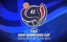 ถ่ายทอดสด FIBA ASIA CHAMPIONS CUP 2018