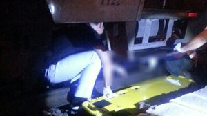 ชายหญิงดื่มเบียร์จนเมา ชวนกันถ่ายเซลฟี่กับรถไฟ สุดท้ายถูกชนขาขวาขาด