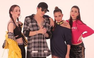 """ป๊อก Mindset เสิร์ฟ """"Got Me"""" แจมกับสามสาวแซ่บ เจสซี่, ติช่า, สกาย The Face Thailand"""