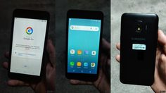 หลุดภาพ Samsung รุ่น Android Go ยังใช้หน้า Samsung UI สามารถใช้ธีมของ Samsung ได้