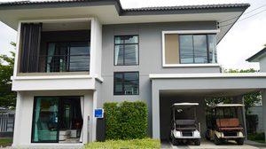 บ้านตัวอย่าง ไอเดียแต่ง บ้านเดี่ยว 2 ชั้น ขนาด 135 ตร.ม.