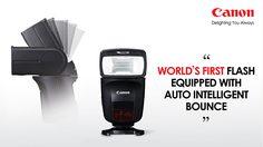 Canon เปิดตัว Speedlite 470EX-AI แฟลชรุ่นแรกของโลกที่มีเทคโนโลยี  Auto-Intelligent AI Bounce