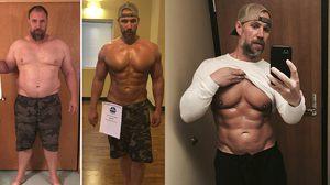 คุณพ่อวัย 39 เปลี่ยนตัวเอง ลดน้ำหนักสู่หุ่นเฟิร์ม 37 กิโลกรัม ภายใน 6 เดือน