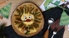เส้นพาสต้ากับไข่ทอด ไอเดียจากนิทานอีสป ราชสีห์กับหนู