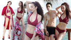 มัลดีฟส์ไฟลุก! อั้ม พัชราภา ต้อนรับ40 สวมชุดว่ายน้ำ แบรนด์พระองค์หญิงสิริวัณณวรีฯ