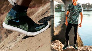 Nike Free RN Motion Flyknit 2017 ยืดหยุ่นอย่างเป็นธรรมชาติ ปรับกระชับรับกับรูปเท้า
