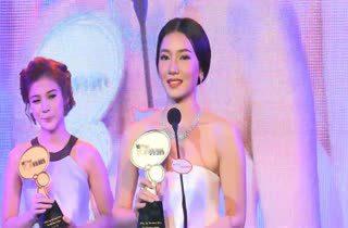 [HD] นุ่น วรนุช - เก้า สุภัสสรา - ขวัญ อุษามณี ได้รับรางวัล MThai Top Talk Actress 2014