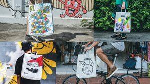 10 ศิลปินไทย ปล่อยงานศิลป์บนกระเป๋า Freitag รุ่นพิเศษ