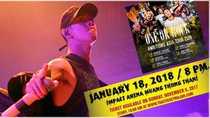 เตรียมตัวให้พร้อม! ONE OK ROCK เตรียม 'ร็อก' เมืองไทย – เปิดจองบัตร 5 พ.ย. นี้!!