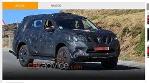 สปายชอต Nissan Navara  SUV คาดการณ์ต้นปีหน้าได้เห็นกัน