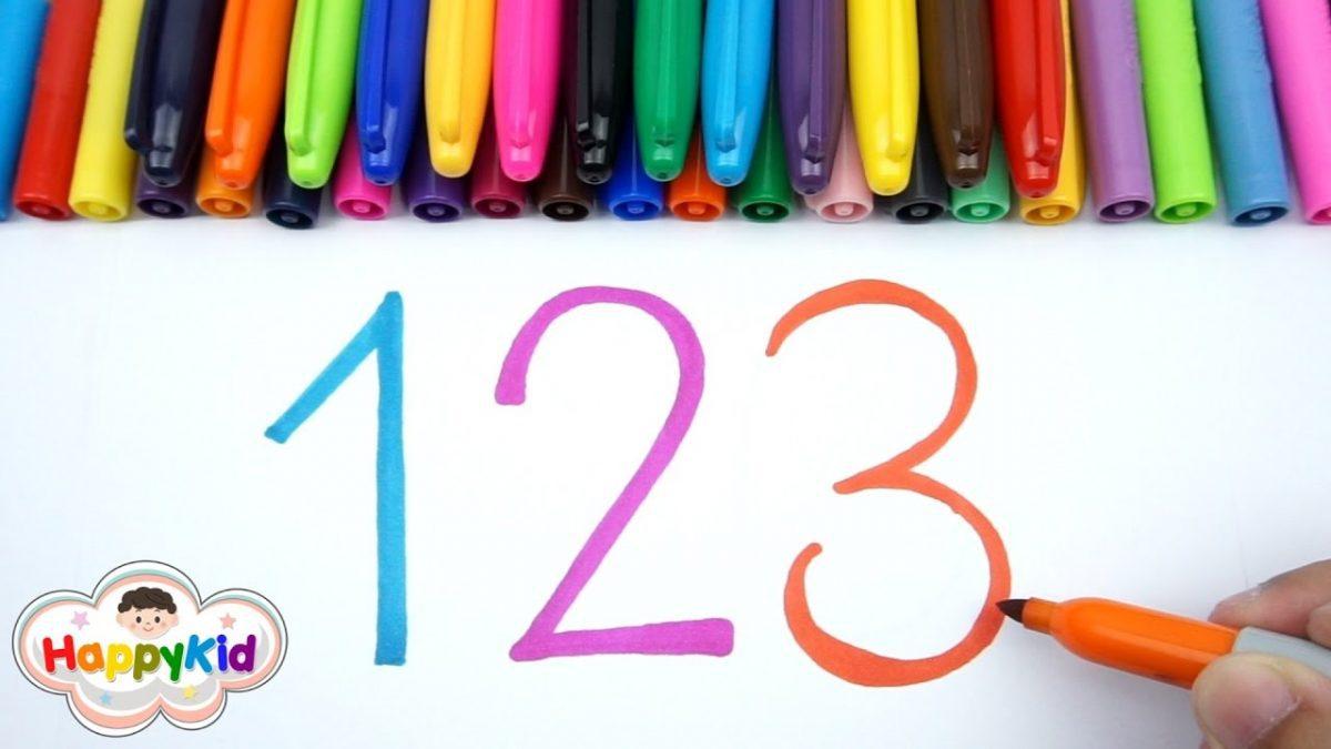 หัดอ่าน หัดเขียน ตัวเลข 1-20 | เรียนรู้ตัวเลข | Learn Thai Number 1-20