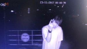 งานนี้ดังแน่! หนุ่มเมาจัด ยืนฉี่หน้ากล้องวงจรปิด แถมซ่ายังทำท่าหาเรื่อง