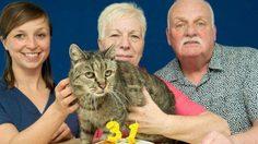 สตรองมาก! Nutmeg แมวอายุมากที่สุดในโลก