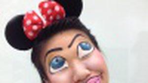 แต่งหน้าผี Minnie Mouse ฮาโลวีนไม่เห็นต้องสยอง แอ๊บแบ๊วก็ได้!!