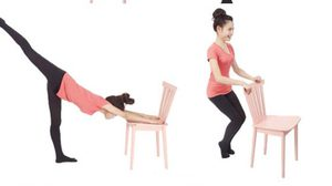 ท่าเบิร์นไขมัน ด้วยการออกกำลังกาย Barre Workout แค่มีเก้าอี้ ก็เตรียมผอมได้เลย