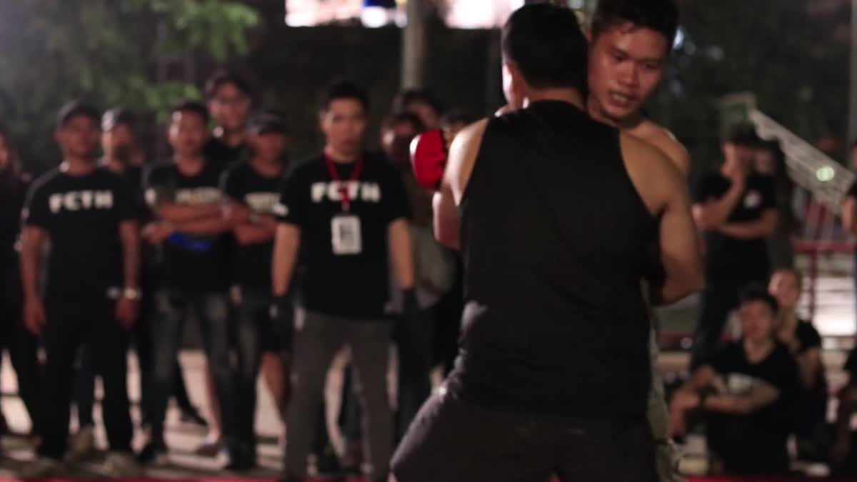 Fight Club Thailand ข้างถนนไว้อาลัย the joker x นุ ซอยห้า คู่ที่ 131