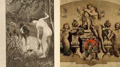 ภาพโป๊วาดมือ สุดอีโรติก จากปลายยุค 1800 ภาพหายากที่คนรวยเท่านั้นจะซื้อดู