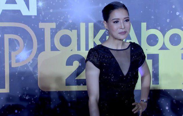 กิ๊ก มยุริญ เดินพรมแดง ในงานประกาศผลรางวัล MThai Top Talk-About 2017