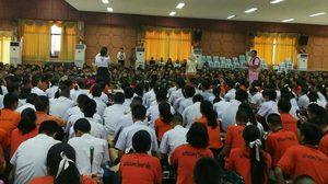 กิจกรรมลดเวลาเรียน เพิ่มเวลารู้ ฉ่อยสัญจร เพลงพื้นบ้าน นิทานไทย