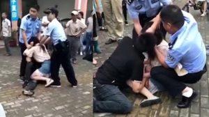 รักกันมากไปนิด!! สาวจีนขาโหดกัดลิ้นแฟนหนุ่มไม่ยอมปล่อย จนต้องให้ ตำรวจ เข้ามาช่วย
