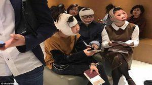 งานเข้าสิจ๊ะ! 3 หมวย บินไปทำศัลยกรรมเกาหลี โดนตม.กักตัวเพราะหน้าไม่ตรงพาสปอร์ต