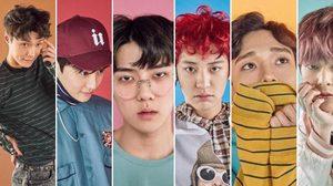 EXO ปล่อยภาพคอนเซ็ปต์ Lucky One คัมแบ็คสุดสดใส!