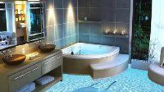 เปิดมิติใหม่ เหมือนอยู่ใต้น้ำจริงๆ ด้วยสไตล์การ แต่งห้องน้ำ ด้วยกระเบื้อง 3 มิติ