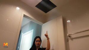 ผู้ช่วยเชฟกระทะเหล็ก ร้องคนร้ายปีนหลังคาบ้านทะลุฝ้าเพดาน หวังฉกทรัพย์