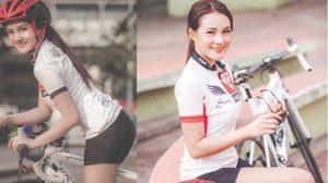น้องสอง จากคนที่ไม่ชอบออกกำลังกายสุดท้ายจักรยานคือคำตอบของเธอ
