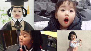 สาวน้อยหน้าทะเล้น ควอน ยูรี เน็ตไอดอลตัวน้อยเกาหลี