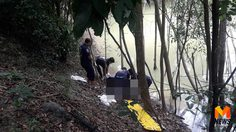 ผงะ! พบศพปริศนาอืดในบ่อน้ำกลางป่า หัวหลุดจากลำตัว