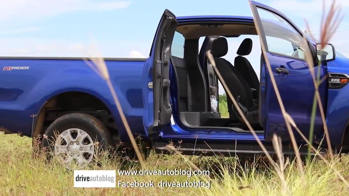 [ลองขับ] 2015 Ford Ranger Open Cab XLS 4x2 Hi-Rider ปิกอัพเพื่อคนทำงาน รางวัลคนสู้ชีวิต