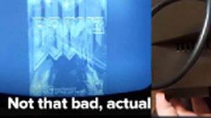 ทำไปได้ เล่นเกม HDMI บนทีวีขาวดำ โบราณ ทั้งภาพและเสียงก็ไม่ไหวล่ะ