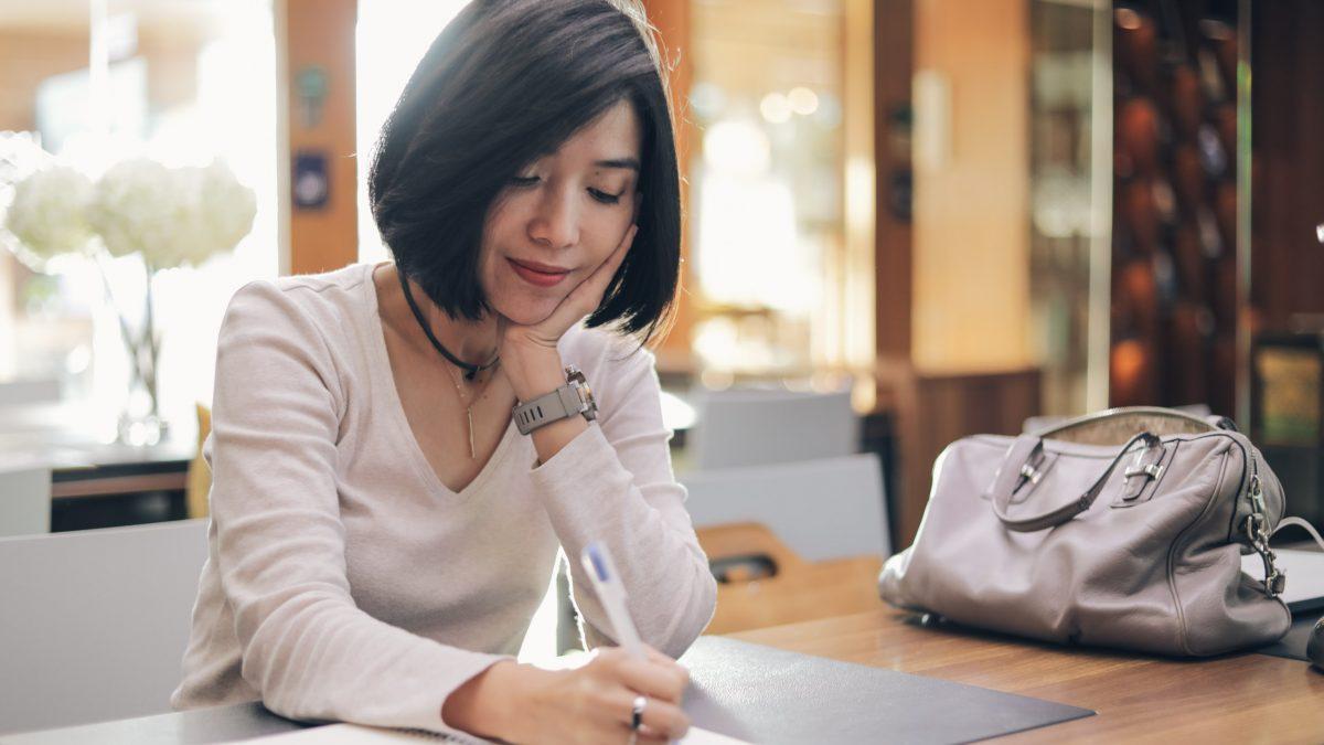 คิดบวกกับตัวเอง ด้วยจดหมายหนึ่งฉบับ   จีนา จีนาฟู   ใจบันดาลแรง