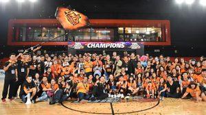 ประมวลภาพ ค้างคาวอมตะ เฉือน ไฮเทค คว้าแชมป์ TBL 2016 สุดมันส์!