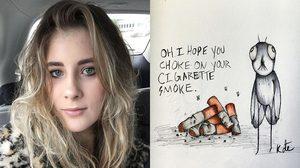 Kate Fenner ศิลปินสาวผู้ป่วยโรคจิตเภทที่สร้างสรรค์ผลงานบำบัดตัวเองจนดีขึ้น