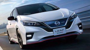 Nissan Leaf Nismo 2018 เตรียมเปิดตัวอย่างเป็นทางการที่แดนปลาดิบ