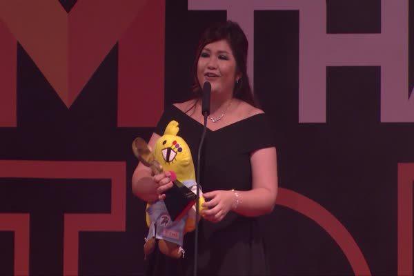 อีเจี๊ยบ เลียบด่วน รับรางวัล Top Talk About Internet Attraction