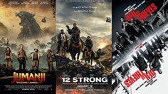 ยังโค่น Jumanji ไม่ลง!! สองหนังใหม่ Den of Thieve และ 12 Strong เปิดตัวที่สองและสาม