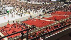ริฮานน่า ช็อค คอนเสิร์ตเวิลด์ทัวร์ที่ลอนดอน ที่นั่งว่างเพียบ!