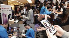บรรยากาศรับเครื่อง Samsung Galaxy S9 / S9+ วันแรกในไทย สีม่วงมาแรงเกินคาด!!