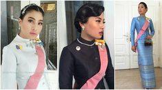 20 ภาพ ฉลองพระองค์ชุดไทย ของ พระองค์เจ้าสิริวัณณวรีนารีรัตน์ฯ สวยสง่า งดงามมาก!!