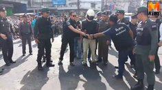 จับได้แล้ว โจรควงดาบบุกปล้นร้านทอง ที่จันทบุรี