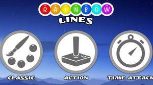 เกมส์ลูกบอลหรรษา Rainbow Lines!!