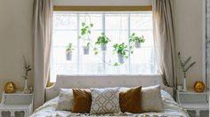 เทคนิคการ จัดวางเตียงนอน ใน ห้องแคบๆ ให้แมทช์กับ หน้าต่าง แล้วดูปัง